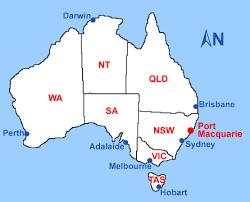 map port port macquarie maps