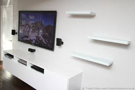 Living Room Cabinet Design by Interior Design Interesting White Ikea Floating Shelves For