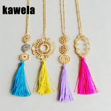 tassel necklace images Free shipping new design pendant tassel necklace thread tassel jpg