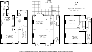 floor plan area calculator 3 bedroom property for sale in montpelier road brighton bn1