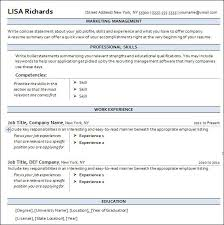 easy to read resume format sle free resume templates 13 free documents in word