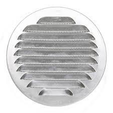 grille aeration chambre grille d aération aluminium naturel diam 12 5 cm leroy merlin