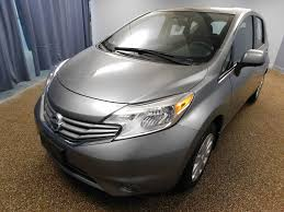 grey nissan versa hatchback 2014 used nissan versa note 5dr hatchback cvt 1 6 sv at north