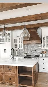 rustic kitchen designs with white cabinets mix of white and wood back splash kitchen