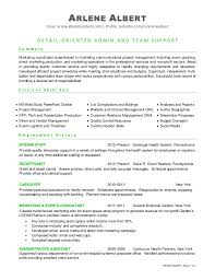 Author Resume Sample by Executive Summary Event Manager Resume Professional Summary