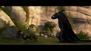 train dragon movie photos hiccup toothless