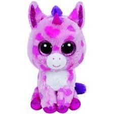 magic unicorn beanie boo 6 stuffed animals toys u0026 crafts