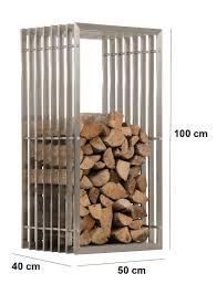 firewood rack irving stainless steel log basket stand holder fire
