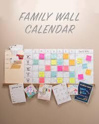 weekly family wall calendar nifty creative home pinterest