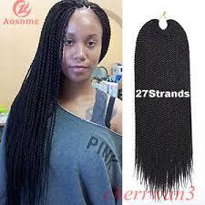 packs of kanekalon hair 18 5 packs kanekalon micro senegalese twist hair crochet braid