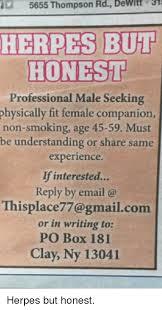Seeking Companion 5655 Thompson Rd Dewitt 3 Herpes But Honesi Professional