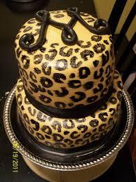 leopard print fondant cakecentral com