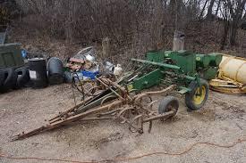 2 Row Corn Planter by John Deere 400 Series 2 Row Corn Planter With Custom Front Mount
