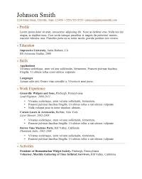 Template Word Resume Sensational Idea Resume Template Word 7 Free Templates Cv Resume