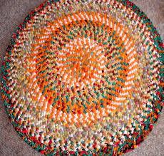 Round Braided Rugs For Sale Decorating Rhody Rug Solid Brilliant Red Braided Rugs For