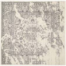 6 Square Area Rug Safavieh Adirondack Ivory Silver 10 Ft X 10 Ft Square Area Rug