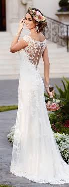 laced wedding dresses best 25 lace wedding dresses ideas on lace wedding