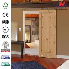 Knotty Alder Interior Door by China Knotty Alder 1 Panel Shaker Barn Door Manufacturers