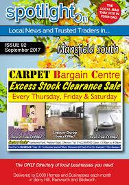 K Hendesign Spotlight Magazine For Mansfield South Nottingham November 2017