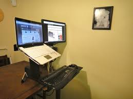 Standing Desk Ergotron Ergotron Workfit A A Refined Sit Stand Desk For Your Office