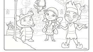 disney jake neverland pirates coloring sheets mobile