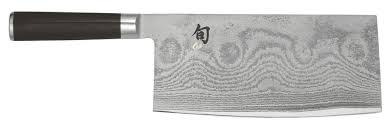couteau chinois cuisine shun hachoir chinois 18 cm