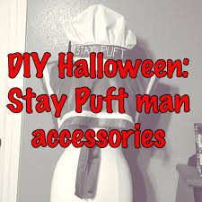 diy halloween ghostbusters stay puft man accessories youtube