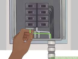 how to install a transfer switch with pictures wikihow