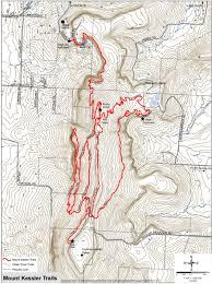 Fayetteville Ar Map Mt Kessler Trails Ozark Off Road Cyclists