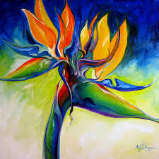 bird of paradise flower bird of paradise 24 painting by marcia baldwin