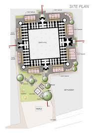 floor plan of a mosque khirki reuse u2013 axiom india