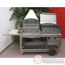 cuisiner avec barbecue a gaz mendy alde inox hotte plancha avec couvercle bap3317i dans