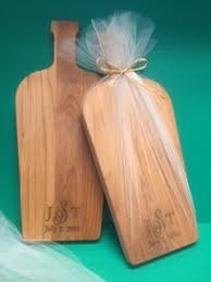 personalized cutting board wedding personalized wooden cutting board for a wedding favor dash of thyme