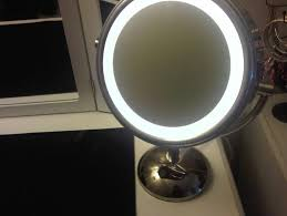 round makeup mirror with lights lighted makeup mirrors bed bath beyond home design ideas