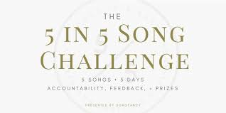 Challenge How To 5 In 5 Songwriting Challenge How To Guide Faq Songfancy