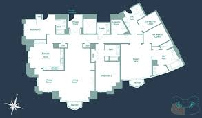 Southwestern Floor Plans Residence 04 Southwest The Carlyle Residences