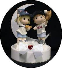 baseball wedding cake toppers minnesota baseball wedding cake topper fans top precious