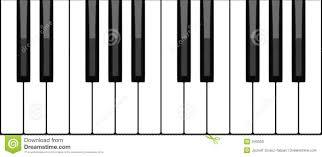 piano keyboard stock photo image 343050