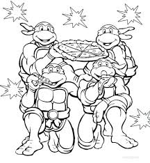 coloring pages teenage mutant ninja turtles color teenage mutant