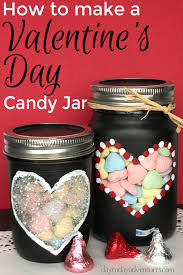 candy for s day how to make a s day chalkboard painted candy jar