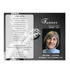 funeral programs angel funeral program funeral phlets