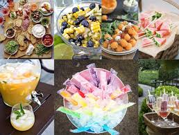 36 best images of summer garden party menu ideas back yard