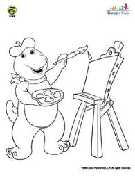 barney coloring pages free gif 481 920 pixels decorated cake