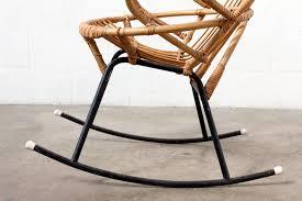 Bamboo Rocking Chair Retro Bamboo Rocking Chair Amsterdam Modern