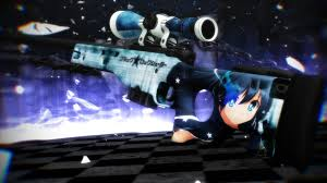black rock shooter awp black rock shooter counter strike global offensive u003e skins