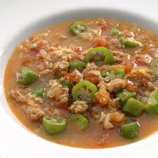 lot of 6 gumbo soup sausage gumbo recipe eatingwell