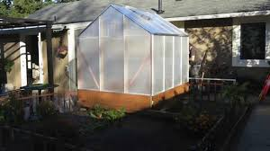 Greenhouse 6x8 Harbor Freight Greenhouse Improvements Youtube