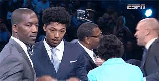 elfrid payton hair cut elfrid payton s hat didn t fit over his hair update the big lead