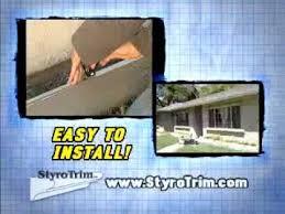styrotrim com stucco moldings youtube