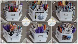 Makeup Organizer Desk by Craft Carousel Pretty Neat Living